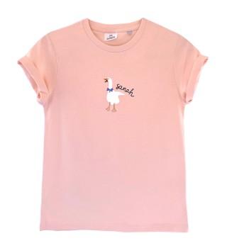 Koszulka dziecięca pink gąska