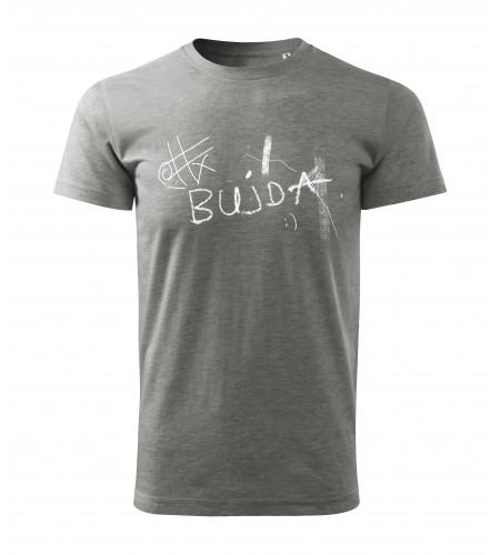 "Koszulka szara grafika  ""Bujda"""