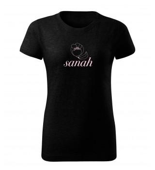 Koszulka   sanah czarna